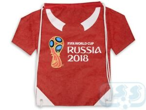TWCR12: FIFA World Cup Russia 2018 new official GymBag GymSack Gym Bag Sack