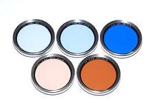 5 diferentes B + W candidata conjunto de filtro para 44mm rosca para filtros (usado)
