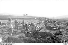 German Army Airmen Flak Gun Tunisia 1942 World War 2 Reprint Photo 6x4 Inch