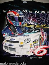 1998 MARK MARTIN 6 FORD TAURUS TATTOO NASCAR SHIRT-XL