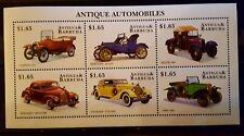 48.Briefmarken Autos 1998 Antigua & Barbuda Kb.,postfrisch