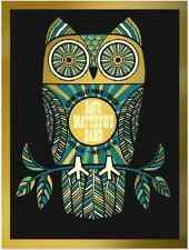 Dave Matthews Band Alpine Poster LE Gold Foil Print 617 of 1000 - Signed