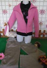 vêtements occasion fille 10 ans,sweat LONGBOARD,gilet,pantalon LA COMPAGNIE DES