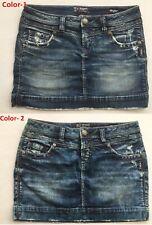 NEW Silver Jeans Women's FRANCY Mini Skirt F00208G