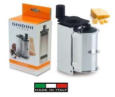 Ghidini: grattugia a manovella per grana in acciaio inox  2530 (made in Italy)