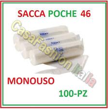 100 SACCA A POCHE CM. 46 MONOUSO TRASPARENTI BAKERY PROFESSIONALE ZBEZ651