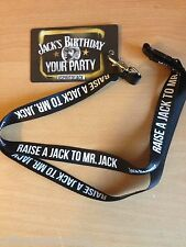 JACK DANIELS LANYARD FROM 2014 BIRTHDAY CELEBRATIONS