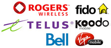Bell / Virgin / Fido / Rogers / Lucky / Koodo / ATT Sim Card Regular/Micro/Nano!
