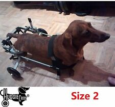 Huggiecart Dog Wheelchair, New, All Sizes, 8 Models 3 to 99 lbs, Ready to Ship