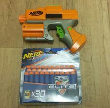 NERF Sharp Shot Dart Tag Gun Blaster Handgun with 30 x N - Strike Bullets