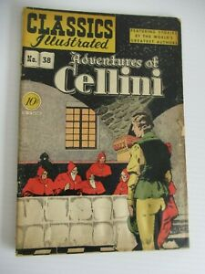 CLASSICS ILLUSTRATED #38 1ST EDITION HRN 38 JUNE 1947 f