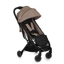 Poussette de promenade légers beige pour bébé