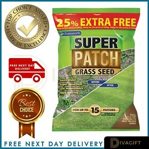 Fast Growing Lawn Grass Seed | RAPID QUICK GROWTH | NEW LAWNS OR PATCH & REPAIR