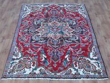 Traditional Vintage Wool 255cmX165cm Oriental Rug Handmade Carpet Rugs