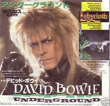 """MINT 7"""" JAPAN DAVID BOWIE UNDERGROUND from LABYRINTH (GLAM)"""