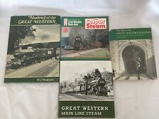4x Vintage Great Western Train Books The Birth Last Decade of  Main Steam Line