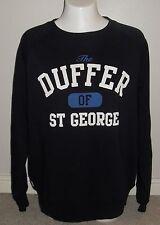 "Duffer of St George New Standard Mens Crew Sweatshirt Size Extra Large 44 - 48"""