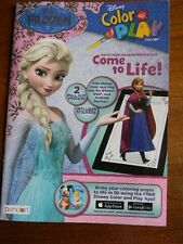 Disney Frozen Color & Play Coloring Activity Book Come To Life In 3D - FREE APP