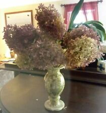 8 Dried Hydrangea stems, pink, mauve, natural shades, Wedding, Bouquets, Crafts