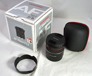 Samyang AF 18mm F2,8 FE Autofokus Objektiv für E-Mount Vollformat