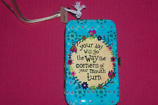 New Natural Life Purse Wristlet Hippie Bohemian Cell Phone Wallet ID Card Holder
