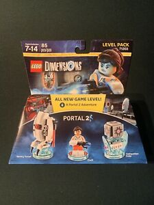 LEGO DIMENSIONS Portal 2 Level Pack — 71203 — 85 pcs — New, Sealed