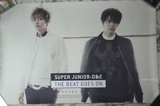 D&E The Beat Goes On Taiwan Promo Poster Ver.C (Super Junior DONGHAE & EUNHYUK)