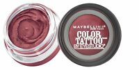 MAYBELLINE 24HR COLOR TATTOO EYE SHADOW ** CHOOSE YOUR SHADE **