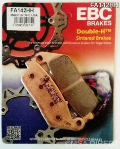 Honda CBR250R Non ABS (2011 to 2013) EBC Sintered FRONT Brake Pads FA142HH 1 Set