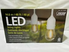 Feit Electric 48 FT LED Outdoor String Lights Commercial Grade (0415)