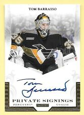 11/12 Panini Private Signings #TB2 Tom Barrasso On Card Autograph