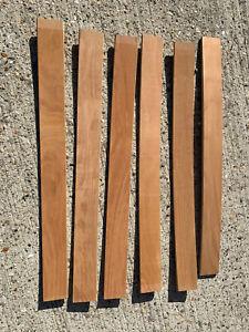 6 x sprung wooden bed slats 700mmx63mm MRE220521D