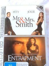 MR & MR SMITH PLUS ENTRAPMENT - DVD -PRE-OWNED