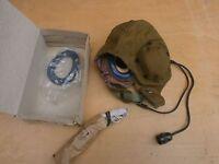 Summer Flight helmet Shshl-78-a LARYNGOPHONE HEADSET CAP VINTAGE soviet USSR
