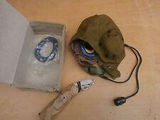 VINTAGE soviet USSR Summer Flight helmet Shshl-78-a LARYNGOPHONE HEADSET CAP