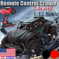 1/12 High Speed RC Car Off Road Racing Remote Control Crawler Truck Childen