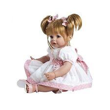 Adora Baby Doll Girl Lifelike Sandy Blonde Hair Blue Eyes Realistic Eyelashes