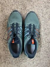EUC SALOMON X MISSION 3 MEN'S SIZE 14 TRAIL HIKING SHOES #379138 ONLY USED ONCE!