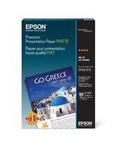 Epson Premium Presentation Paper MATTE (13x19 Inches, 50 Sheets) (S041263) , New