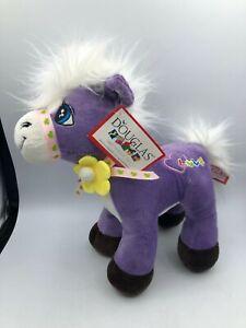 Douglas The Cuddle Toy Purple Love Pony Doll Horse Plush Stuffed Toy Animal