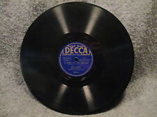 """78 RPM 10"""" Record Bing Crosby Trade Winds & A Song Of Old Hawaii Decca 3299 VG+"""