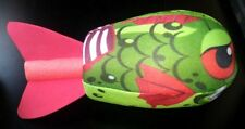 Nerf Style Zombie Fish Piranha Soft Plush Dart Toy Very cool & Fun To Throw!