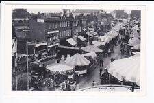 Pinner Fair Nr Harrow London Fairground Rides RPPC Postcard c1930 Scarce