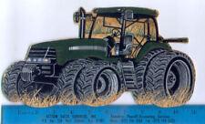 JOHN DEERE FABRIC Wall Stickers 2 Large Pcs Farm Tractors Peel U0026 Stick  HANDMADE Part 77
