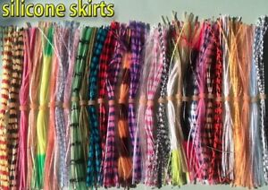 SILICONE RUBBER SILI LEGS FOR FLY TYING - CHOICE OF COLOURS AVAILABLE PER BUNCH