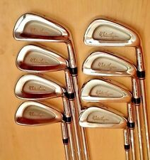 Walter Hagen Cavity Back Forged In The U.S.A Irons Set 3-PW - Rifle Shaft, Stiff