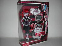 "NEW MONSTER HIGH DOLL OPERETTA W/MEMPHIS ""DADDY O"" LONGLEGS NEW"