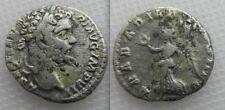 Collectable Septimius Severus Silver Roman Denarius coin ( Victory Arabian War )