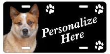 Australian Cattle Dog red #2 Personalized License Plate