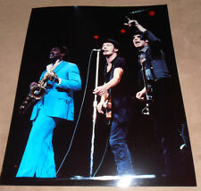 BRUCE SPRINGSTEEN    1  original 8X10 in.  Photo   CLARENCE CLEMMONS
